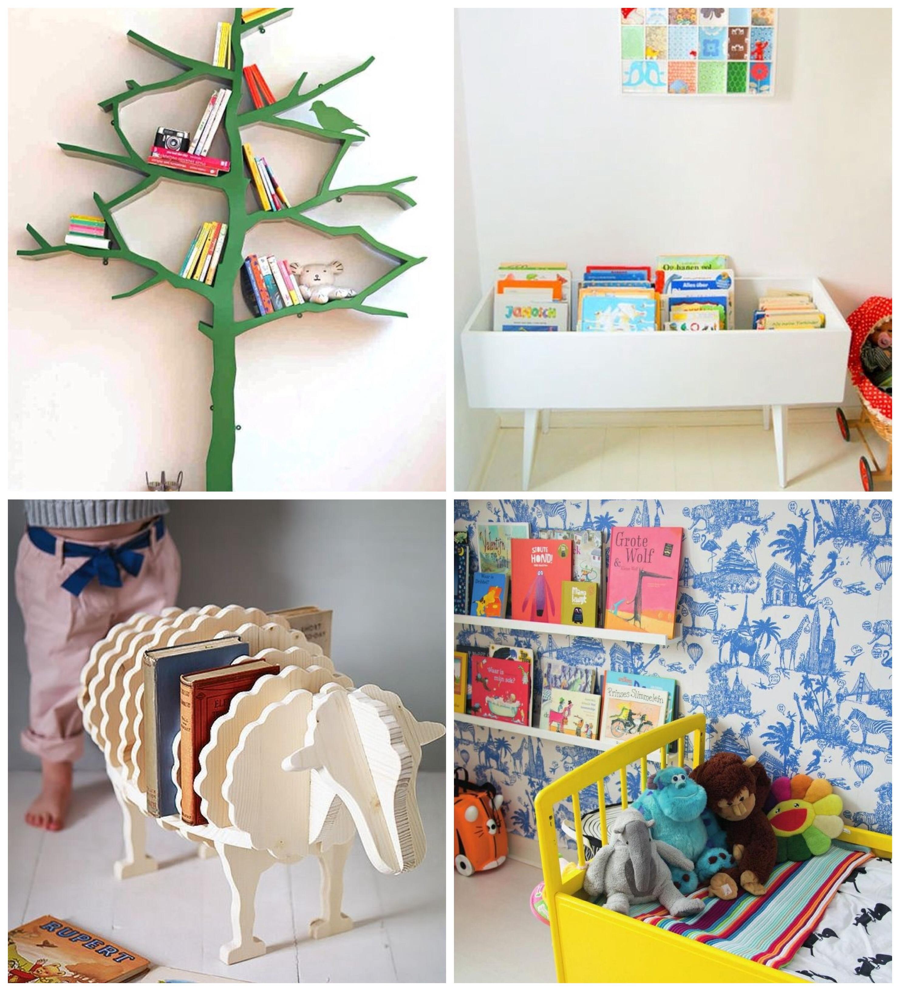 15 ideas para organizar las cosas de los ni os for Ideas originales para casa
